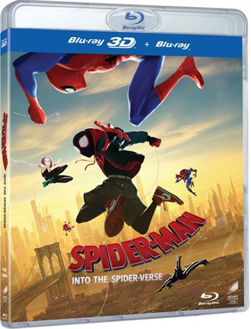 Spider-Man: Into The Spider-Verse - 3D Blu-Ray