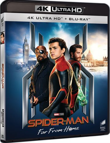 Spider-Man Far From Home - 4K Ultra HD Blu-Ray