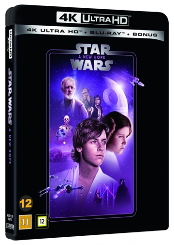 Star Wars - A New Hope  - Episode 4 - 4K Ultra HD Blu-Ray