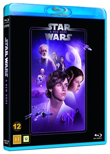 Star Wars - A New Hope - Episode 4 Blu-Ray - 2020 Udgave