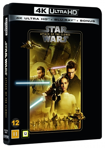 Star Wars - Attack Of The Clones - Episode 2 - 4K Ultra HD Blu-Ray - 2020 Udgave