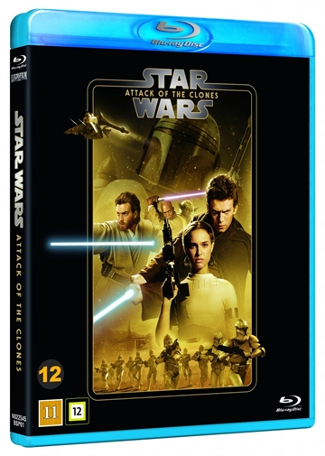 Star Wars - Attack Of The Clones - Episode 2 Blu-Ray - 2020 Udgave