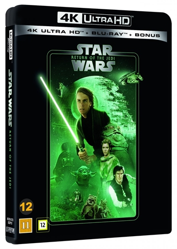Star Wars - Return Of The Jedi - 4K Ultra HD Blu-Ray - 2020 Udgave