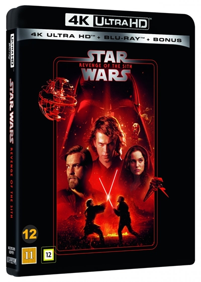 Star Wars - Revenge Of The Sith - Episode 3 - 4K Ultra HD - 2020 Udgave