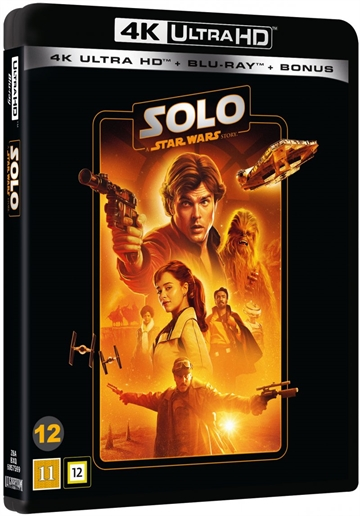 Star Wars - Solo - 4K Ultra HD Blu-Ray - 2020 Udgave