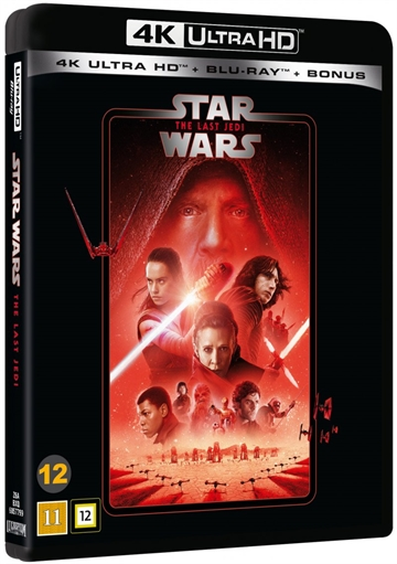 Star Wars - The Last Jedi - Episode 8 - 4K Ultra HD Blu-Ray - 2020 Udgave