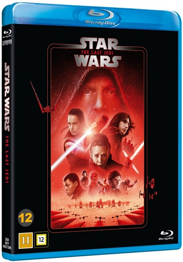 Star Wars - The Last Jedi - Episode 8 Blu-Ray - 2020 Udgave