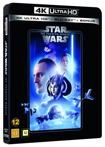 Star Wars - The Phantom Menace - Episode 1 - 4K Ultra HD Blu-Ray