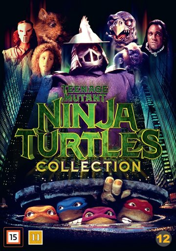 Teenage Mutant Ninja Turtles - Blu-Ray Collection