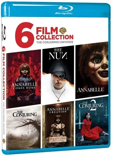 The Conjuring Universe - 6 Film Collection Blu-Ray