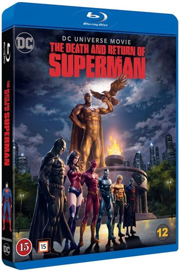 The Death & Return Of Superman Blu-Ray