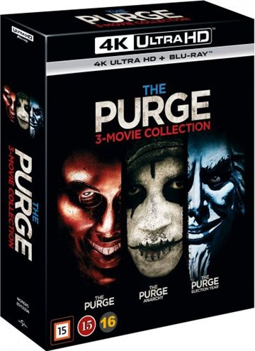 The Purge Box 1-3 - 4K Ultra HD Blu-Ray