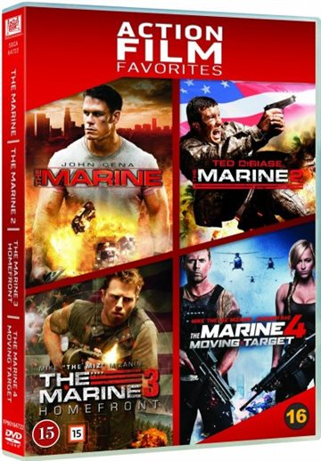The Marine 1-4 Bokssæt (DVD)