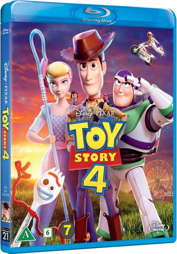 Toy Story 4 Blu-Ray
