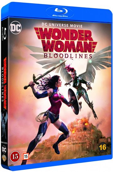 Wonder Woman - Bloodlines Blu-Ray