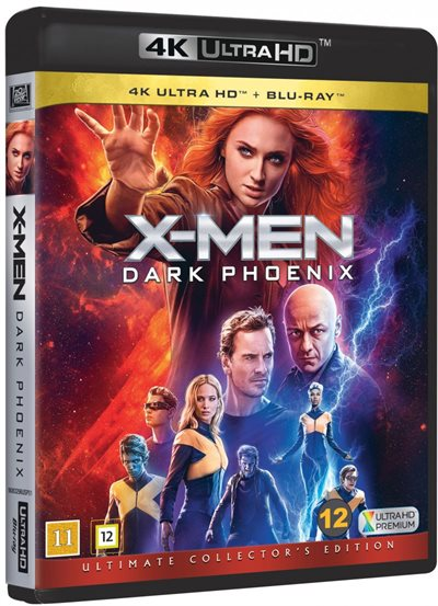 X-Men - Dark Phoenix - 4K Ultra HD Blu-Ray