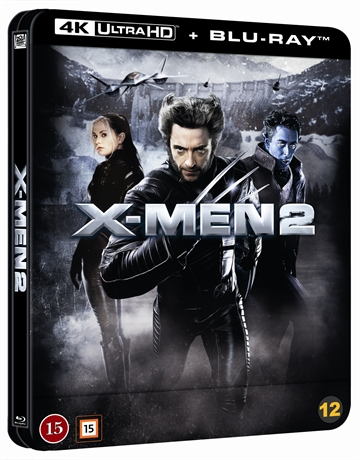 X-Men 2 - Limited Steelbook 4K Ultra HD + Blu-Ray