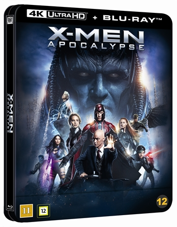 X-Men: Apocalypse - Limited Steelbook 4K Ultra HD + Blu-Ray