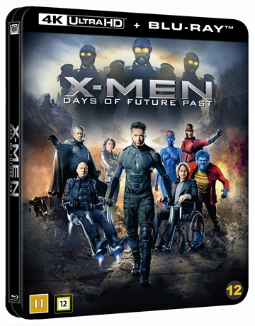 X-Men: Days Of Future Past - Limited Steelbook 4K Ultra HD + Blu-Ray