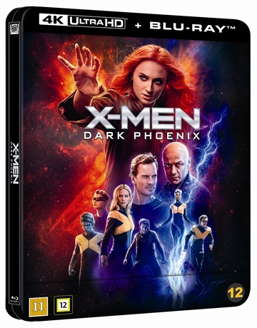 X-Men: Dark Phoenix - Limited Steelbook 4K Ultra HD + Blu-Ray