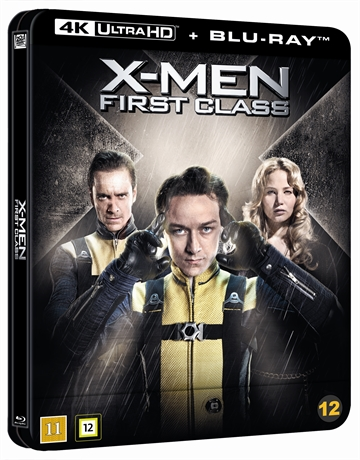 X-Men: First Class - Limited Steelbook 4K Ultra HD + Blu-Ray