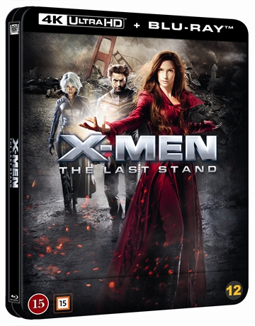 X-Men: The Last Stand - Limited Steelbook 4K Ultra HD + Blu-Ray
