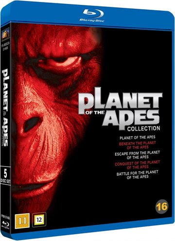 Planet of the Apes Collection (1968-1973) BD Boks