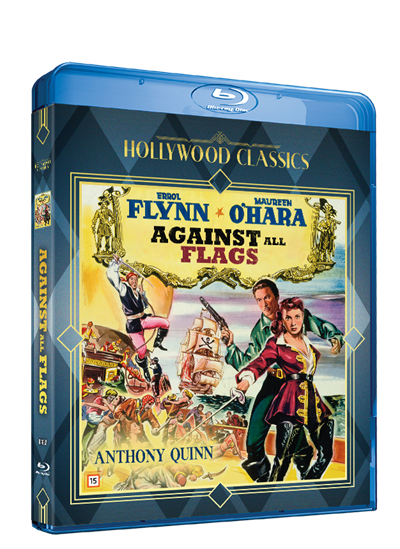 AGAINST ALL FLAGS - BLU-RAY