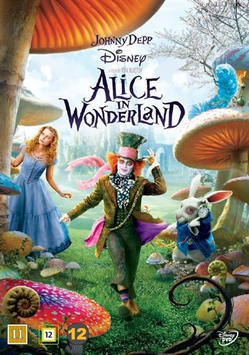 Alice i Eventyrland (DVD)