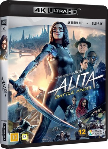 Alita - Battle Angel - 4K Ultra HD Blu-Ray