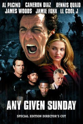 Any Given Sunday - Directors Cut - Blu-Ray