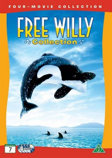 Befri Willy 1-4 Collection (DVD)