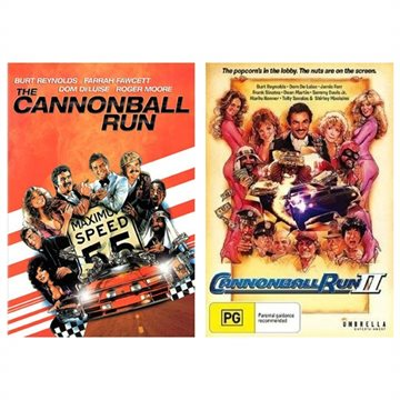 Cannonball Run 1+2 Box