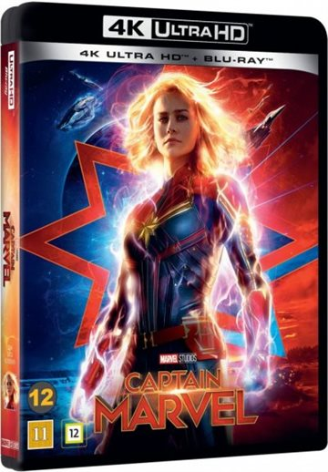 Captain Marvel - 4K Ultra HD Blu-Ray