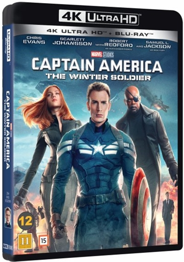 Captain America 2 - The Winther Soldier 4K Ultra HD