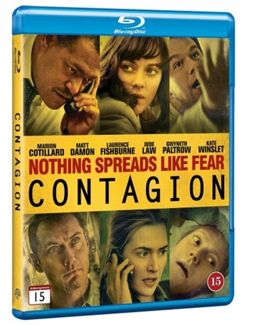 Contagion Blu-Ray (X-Rental)