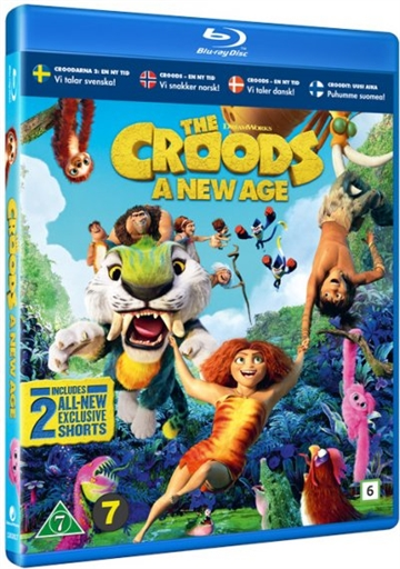 The Croods 2: En Ny Tid - Blu-Ray