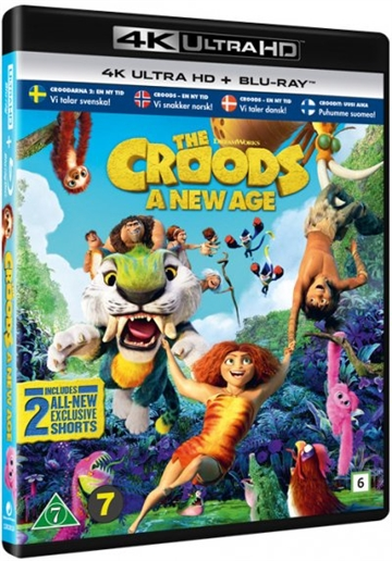 The Croods 2: En Ny Tid - 4K Ultra HD
