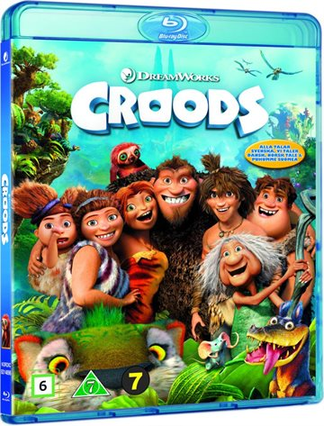 The Croods - Blu-Ray