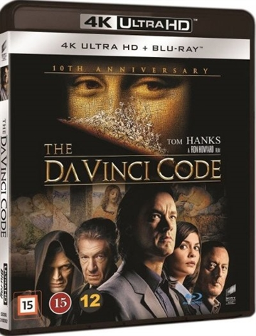 Da Vinci Mysteriet / The Da Vinci Code - 4K Ultra HD