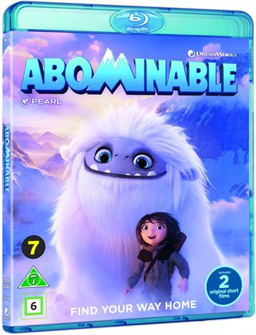 Den Lille Afskyelige Snemand / Abominable - Blu-Ray