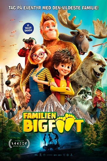 FAMILIEN BIGFOOT - Blu-Ray