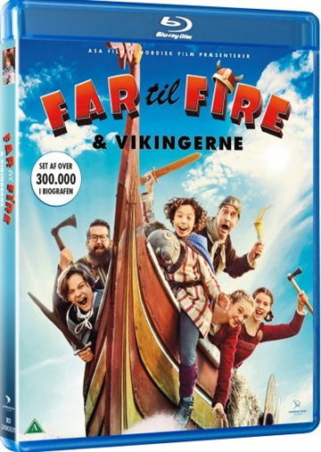 Far Til Fire Og Vikingerne - Blu-Ray