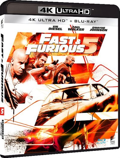 Fast & Furious 5 - 4K Ultra HD Blu-Ray