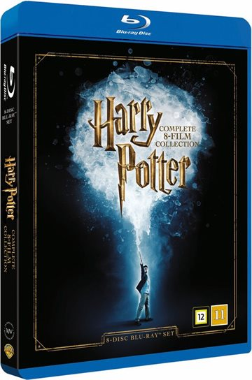 Harry Potter Komplet 1-7 box Blu-Ray