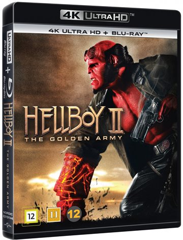 Hellboy 2 - The Golden Army - 4K Ultra HD Blu-Ray