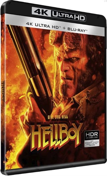 Hellboy - 2019 - 4K Ultra HD Blu-Ray