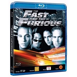The Fast & The Furious 1 Blu-Ray