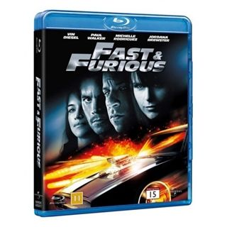 The Fast & The Furious 4 (Blu-Ray)