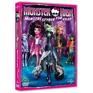 Monster High - Monstre Styrer For Vildt!